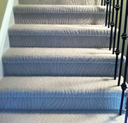 Carpet Installation on Stairs